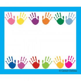 Handprints Name Tags