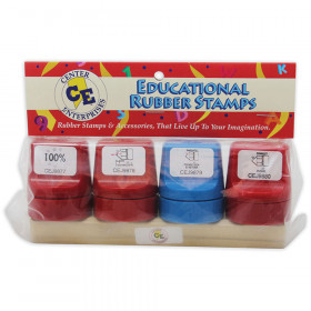 Jumbo Stampers Take Note Set 4/Pk W/ Desk Caddy