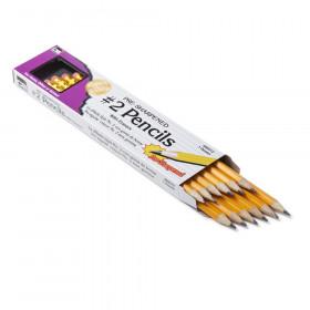 Pencil #2 Lead Pre-Sharpened W/ Era Yellow 12/Box