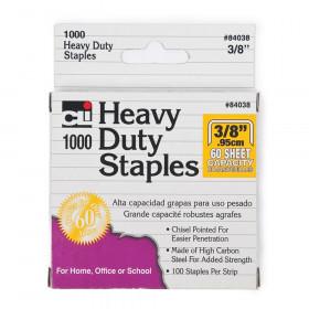 """Heavy Duty Staples, 3/8"""", 1000/box"""