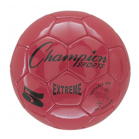 Soccer Ball Size 5 Composite Red