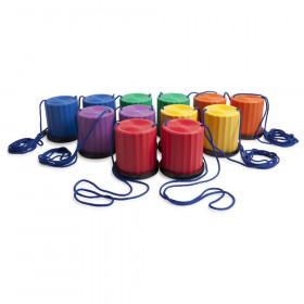 Plastic Platform Stilts, Assorted Colors, Set of 6