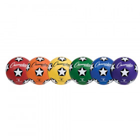 Soccer Ball Set/6 Rubber Size 5