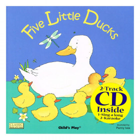 Five Little Ducks 8X8 w/CD