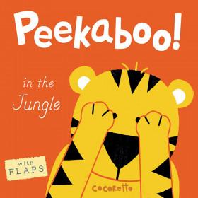Peekaboo! Board Book, In the Jungle!