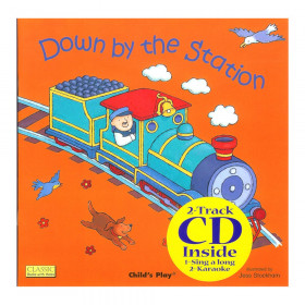 Down By The Station 8X8 w/CD