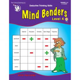Mind Benders Level 4, Grades 3-6