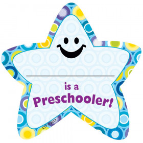 I'm a Preschooler Star Badge