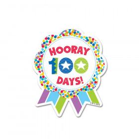 Hooray 100 Days! Ribbon Reward Badge