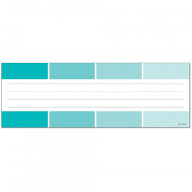 Painted Palette Turquoise Paint Chip Name Plates