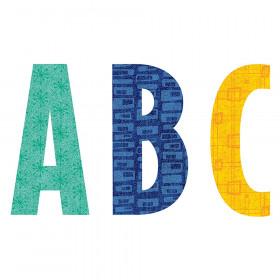 "Mid-Century Mod 4"" Designer Letters"