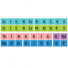 """Periodically Perfect Science Banner, 39"""" x 8"""""""