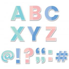 """Color Block 5"""" Designer Letters, 110/Pack"""