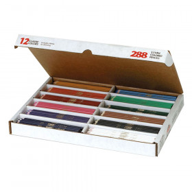 Colored Pencils Classpack, 288/Box