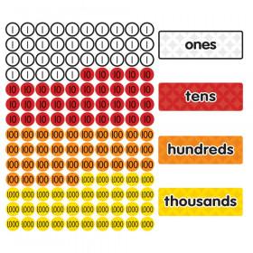 Magnet Math Magnetic Place Value Disks & Headings Gr 1-3
