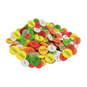 Place Value Disc 7 Value 2100 Set Decimal/Whole Num Sensational Math