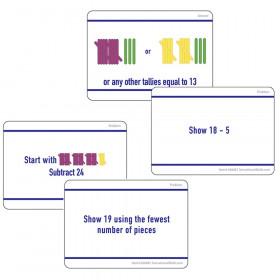 Math Hands On Tally Marks Card Gr 2 Set