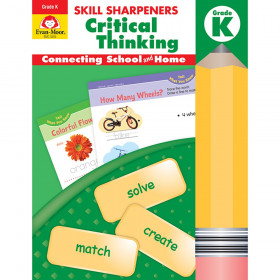 Skill Sharpeners Critical Thinking, Grade K