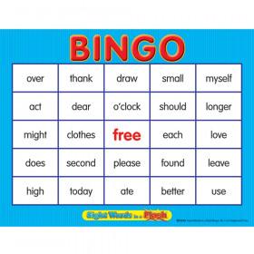 Sight Words In A Flash Bingo Gr 1-2