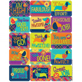 Plaid Attitude Stickers Success