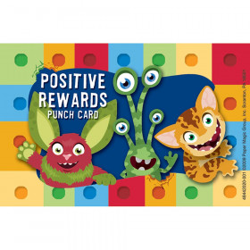Alphabites Reward Punch Cards
