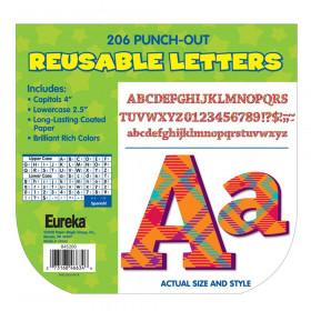 Plaid Attitude - Orange Letters Deco Letters