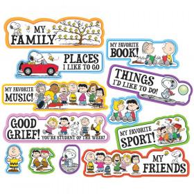 Peanuts Star Of The Week Mini Bulletin Board Set