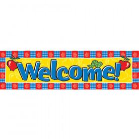 Banner Welcome Horizontal 45 X 12