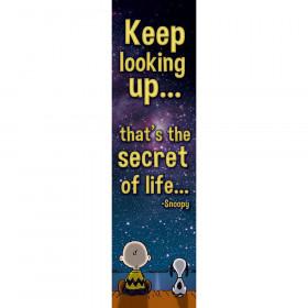 Peanuts Keep Looking Up... Vertical Banner