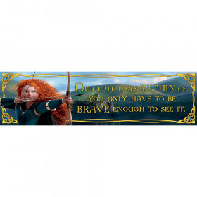 Brave Our Fate Lives Horizontal Banner