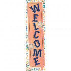 Confetti Splash Welcome Banner