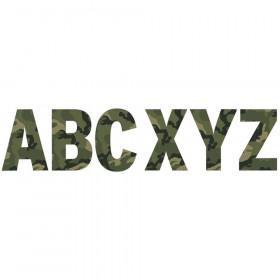 """Classic Camo 7"""" Deco Letters"""