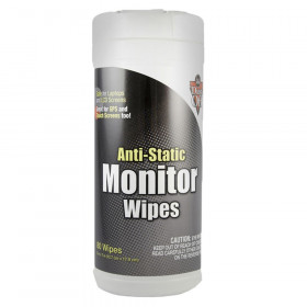 Anti-Static Monitor Wipes, 80 ct. canister