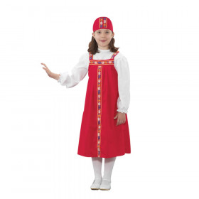 Ethnic Costumes Russian Girl