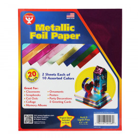 Metallic Paper 2 Each 10 Asst Color