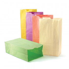 "Pastel Assorted Bags, 6"" x 3 1/2"" x 11"", 28 bags"