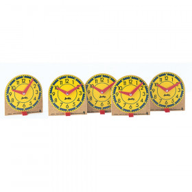 Original Mini Clocks 12-Pk Wood