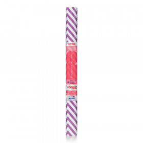 Contact Adhesive Rl Purple Chevron 18In X 20Ft