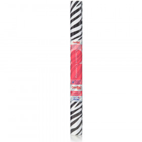 Contact Adhesive Roll Zebra Print 18In X 20Ft