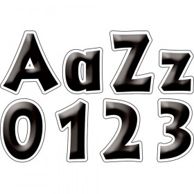 4In Letter Pop Outs Black Tie Affair