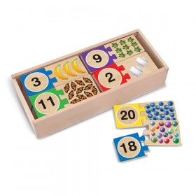 Self-Correcting Wooden Number Puzzles