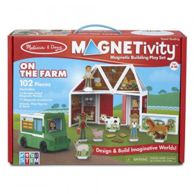 Magnetivity Magnetic Building Play Set: On the Farm