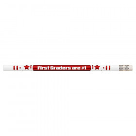 1St Graders Are #1 12Pk Motivational Fun Pencils