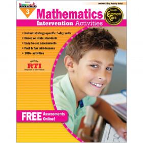 Everyday Mathematics Intervention Activities, Grade 3