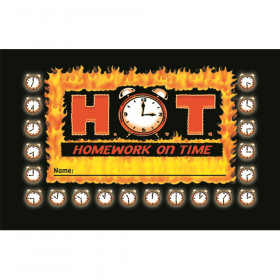 Incentive Punch Cards H O T Homework On Time 36/Pk