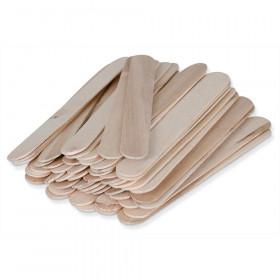 Natural Wood Craft Sticks 500Pcs Large 6L X 3/4W