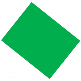 """Coated Poster Board, Green, 22"""" x 28"""", 25 Sheets"""