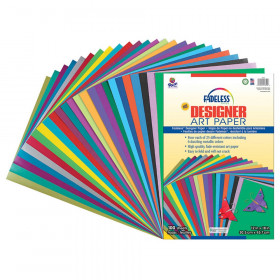 Fadeless Designer Paper Assorted 12X18 100 Sheets