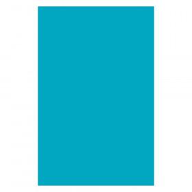 "Plastic Art Sheets, Azure, 11"" x 17"", 8 Sheets"