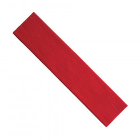 "Crepe Paper, Red, 20"" x 7-1/2', 1 Sheet"